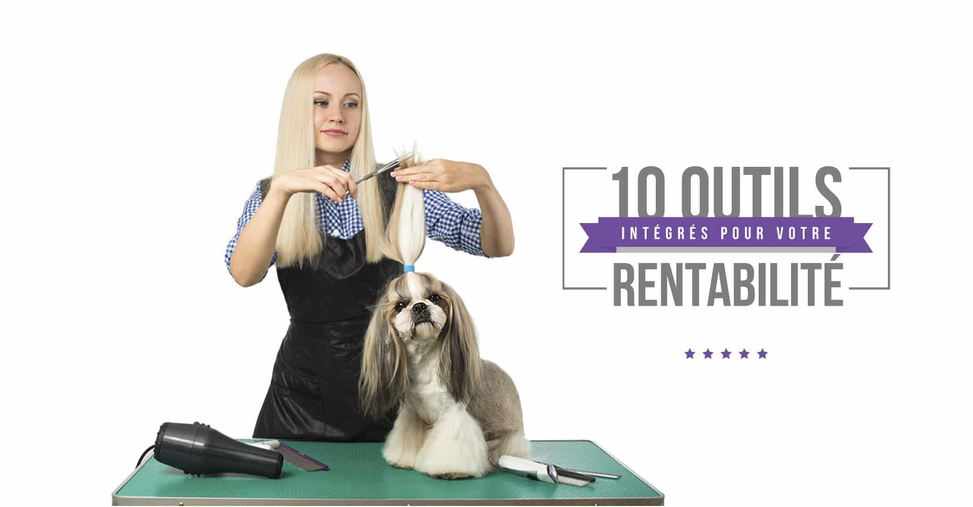 e logiciel de gestion pour les professionnels et les salons de toilettage canin