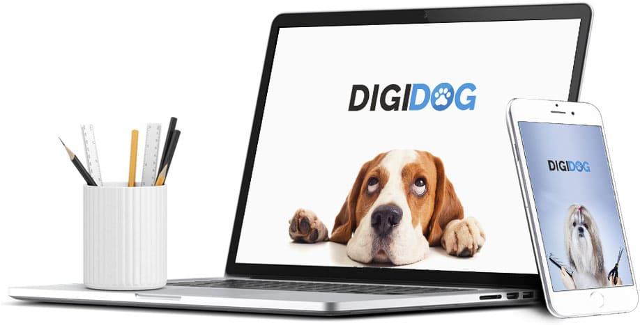 le logiciel de gestion pour les professionnels et les salons de toilettage canin - Téléchargez et essayez gratuitement DIGIDOG